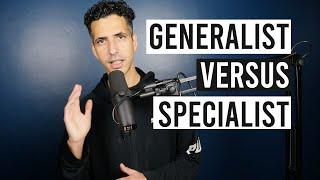 Web Developer Generalist Vs Specialist - مبرمج عام - مبرمج متخصص
