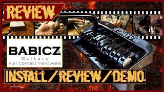 Babicz trem / bridge - unboxing - install - review - demo