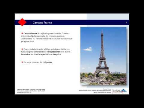 Transmissão ao vivo de Campus France Brasil