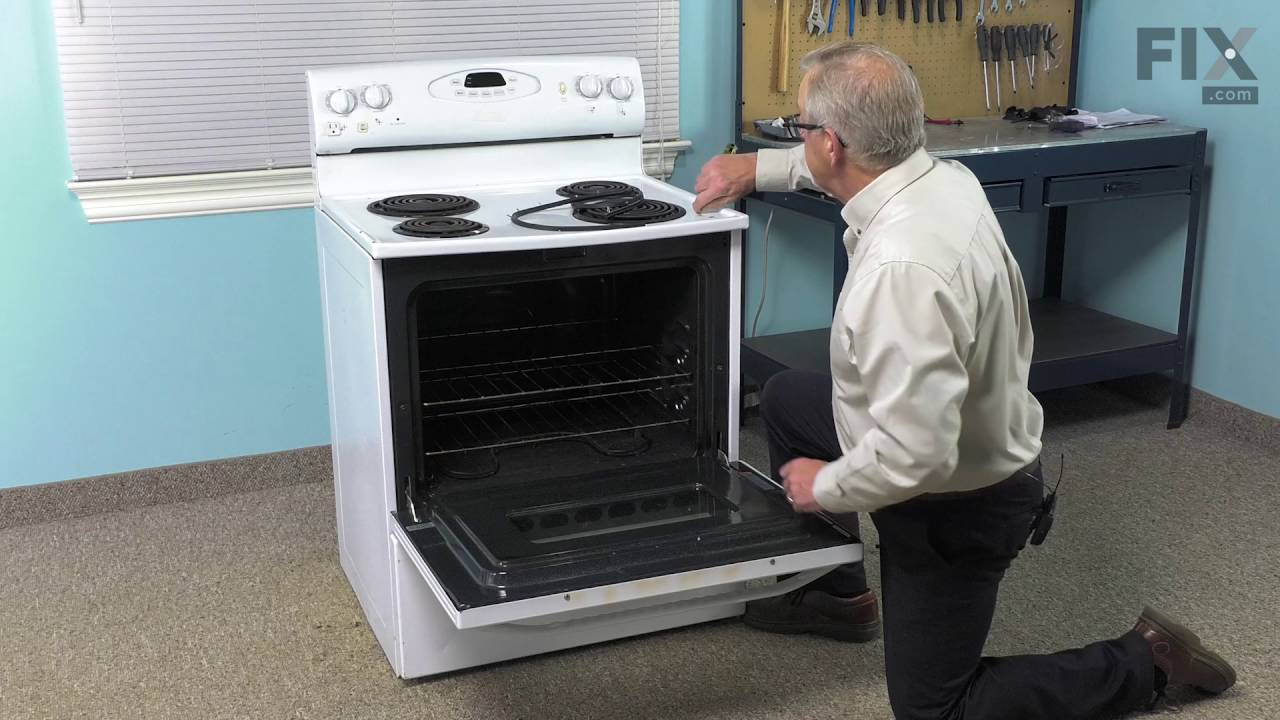 Magic Chef Range Repair How To Replace The Door Gasket