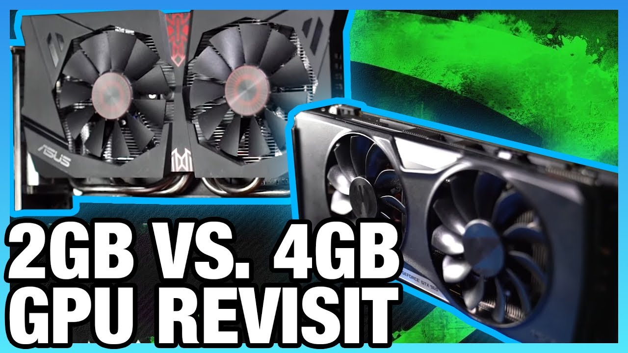 GTX 960 2GB vs  4GB in 2019 – How Much VRAM Capacity Matters vs  GPU