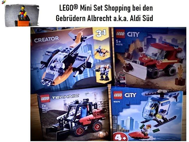 LEGO® Mini Sets Shopping - City/ Creator/ Technic - bei den Gebrüdern Albrecht a.k.a. Aldi Süd