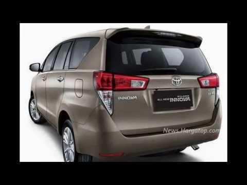 All New Kijang Innova Type Q Fitur Grand Avanza G Toyota 2016 Desain Interior Dan Eksterior Tipe V Youtube