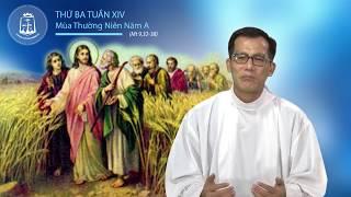 Thứ Ba tuần XIV Mùa Thường Niên A_Mt 9,32-38 – Lm Đaminh Trần Thật CSsR 11/07/2017