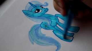 Как Нарисовать Пони ТРИКСИ(В этом видео я рисую пони Трикси Это канал Анель https://www.youtube.com/user/AnelCutePaint Это канал Джек Мейсон мои братhttps://www..., 2013-11-21T11:57:25.000Z)