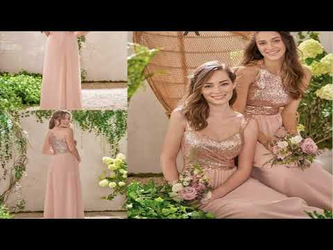 amazing-ivory-wedding-dress-with-rose-gold