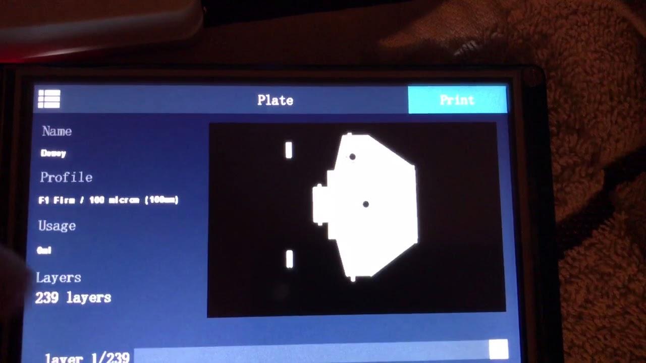 Tibus LCD for Nanodlp