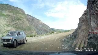 Подъем на Кату-Ярык. Renaul Duster, передний привод(Подъем на перевал Кату-Ярык на Renault Duster, передний привод, двигатель 1,6. Полная загрузка., 2016-08-04T16:49:13.000Z)