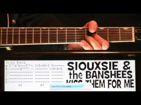 Siouxsie \u0026 The Banshees Kiss Them For Me Guitar Tutorial Tab \u0026 Chords Lesson