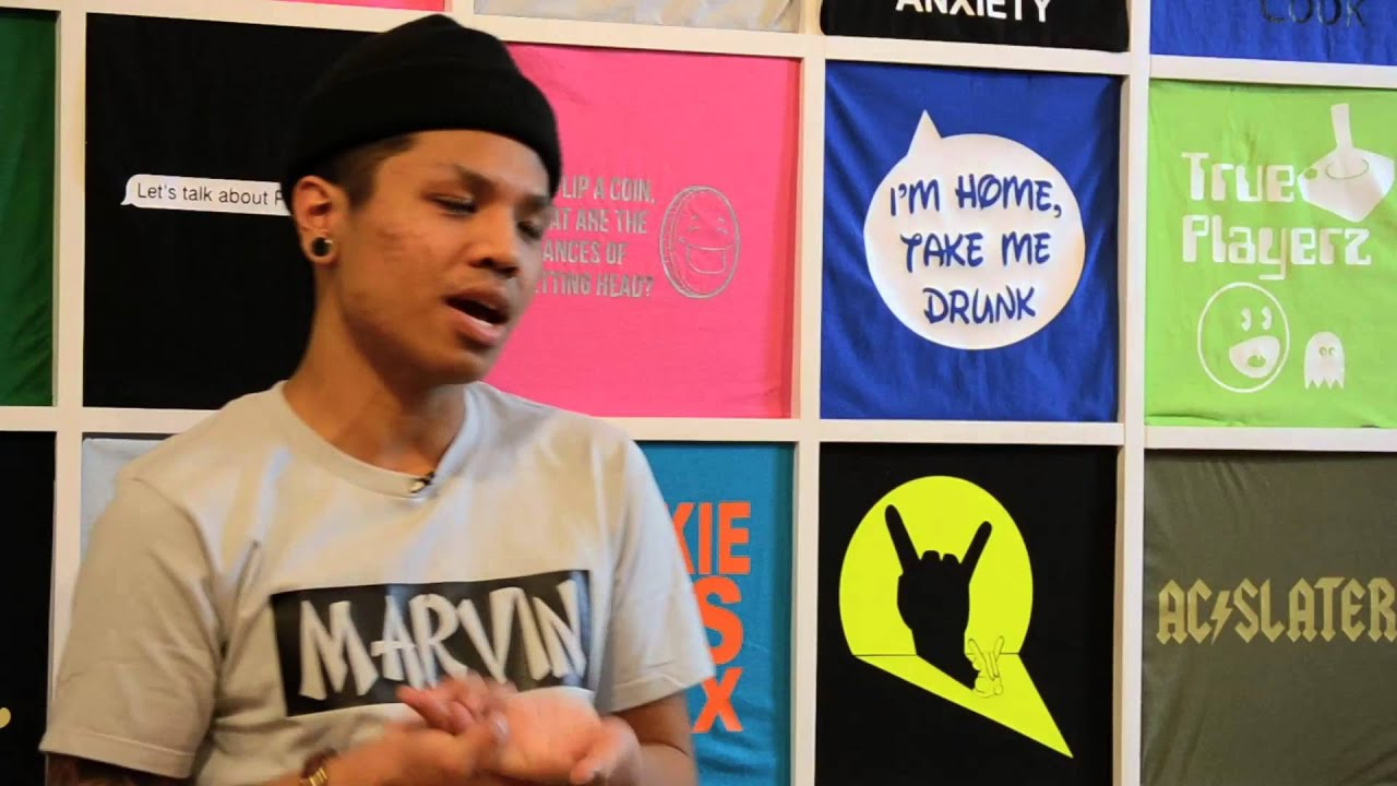 Marvin toronto tees custom t shirt shop youtube for The custom shirt shop
