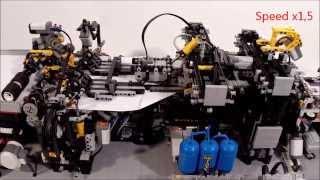 Lego paper plane folding machine V2.1