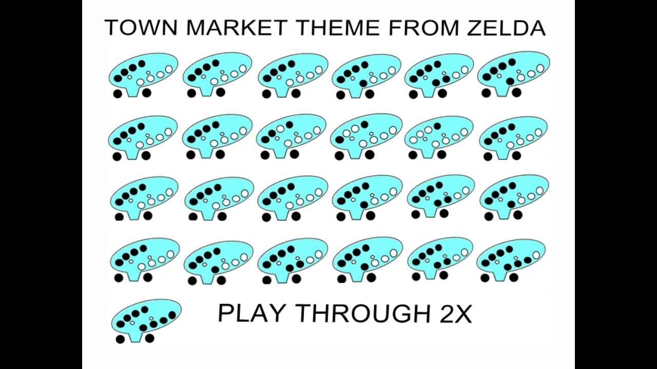 how to play market theme on 12 hole ocarina slowed down youtube. Black Bedroom Furniture Sets. Home Design Ideas