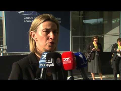 #ForeignAffairsCouncil: EU High Representative Federica Mogherini