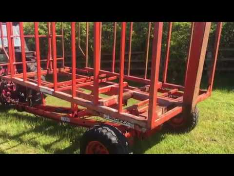 Repeat Browns 64 Bale Accumulator Carrier by DerbyshiresFarm