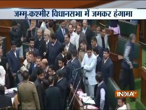 Uproar in JK legislative Assembly over civilian killings in Kashmir