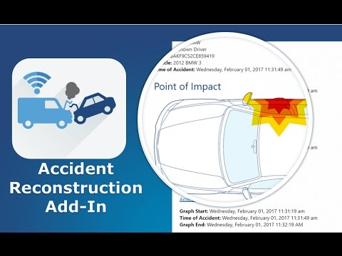 Geotab Accident Reconstruction Add-In