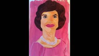 Jacqueline Kennedy Speed Painting