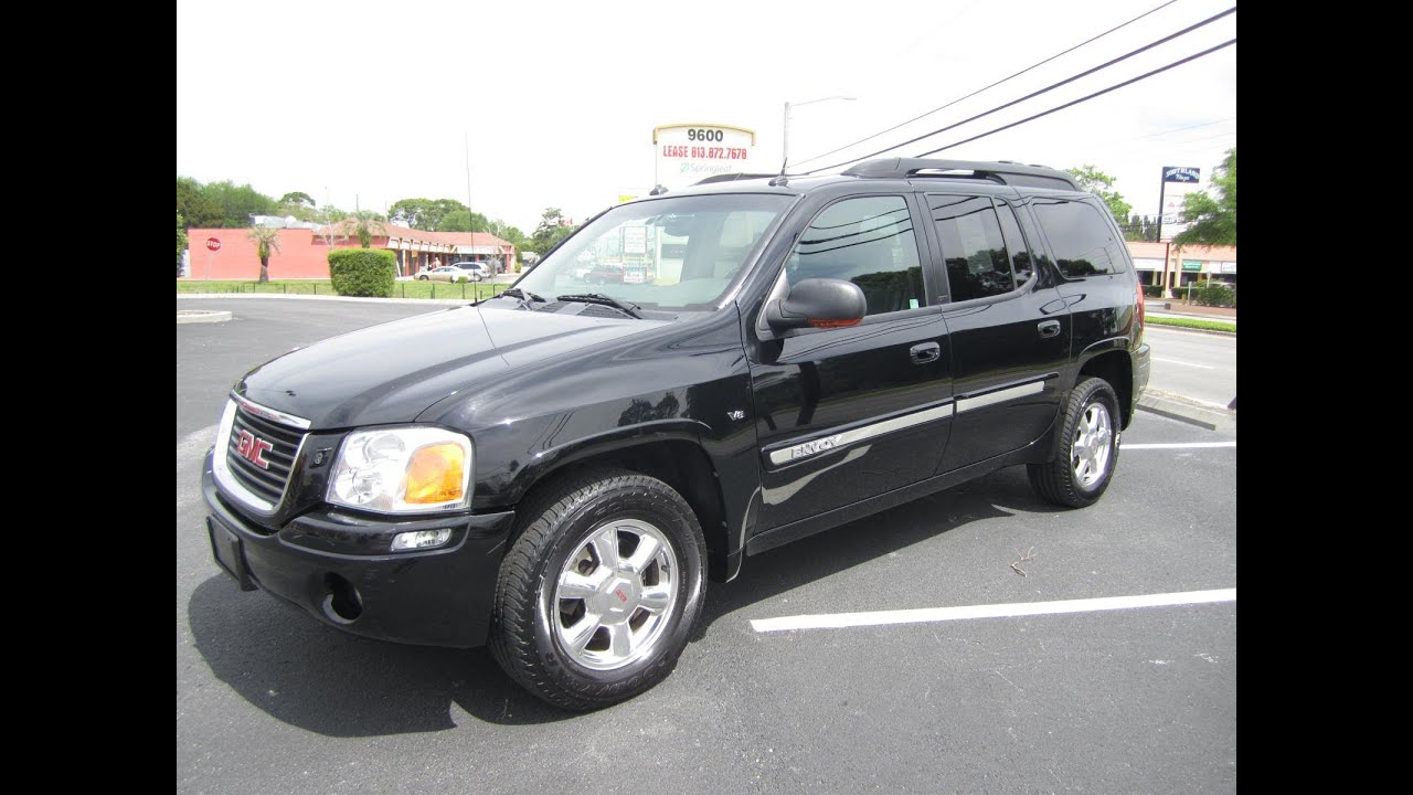 sold 2004 gmc envoy xl slt 4wd v8 meticulous motors inc. Black Bedroom Furniture Sets. Home Design Ideas