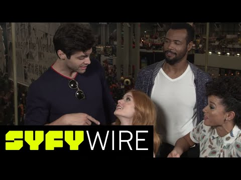 Shadowhunters Cast Geek Out Over New Couplings and Season 3 | New York Comic-Con 2017 | SYFY WIRE