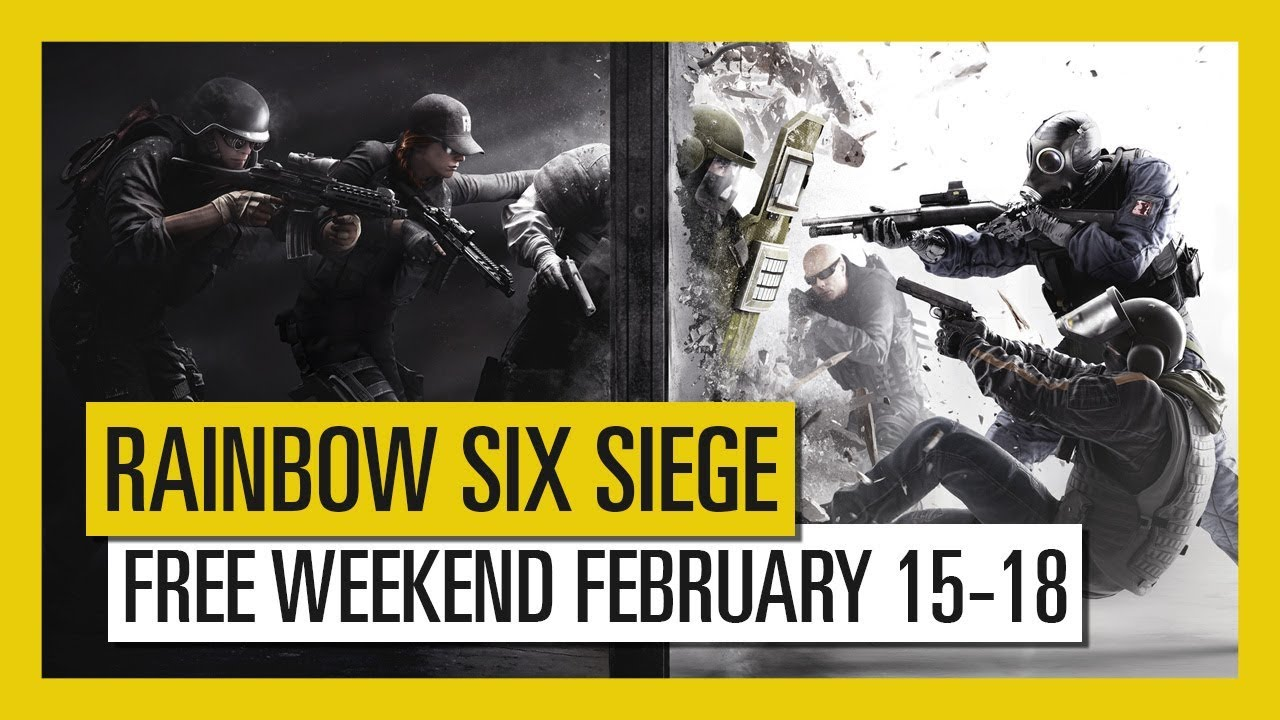 Rainbow Six Siege is holding a free play weekend later this