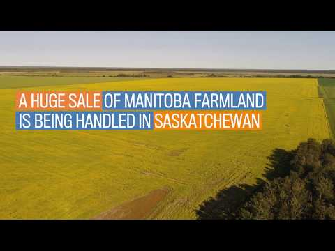Sale Of Largest Farm On The Market In Canada Being Handled By Sask. Realtor