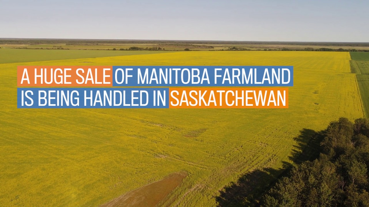 Sale of largest farm on the market in Canada being handled by Sask  realtor