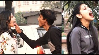 Magic Prank On Cute Girls || twist Prank || In India || Jassi Sona || Funny Reaction
