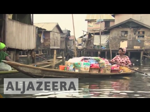 Residents of Nigeria's floating slum thrive