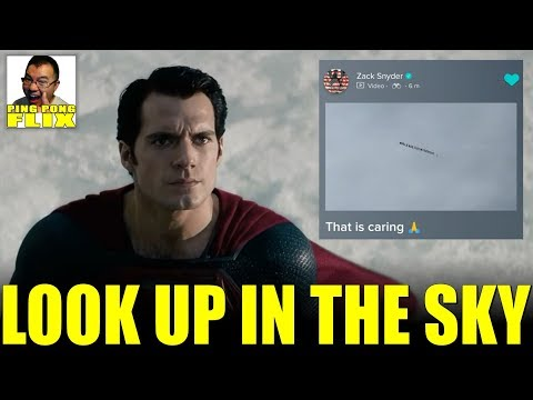 LOOK UP IN THE SKY – Aquaman Final Trailer Thoughts, Zack Snyder Sees #ReleaseTheSnyderCut Banner