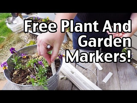 Free Or Cheap Plant And Garden Markers!