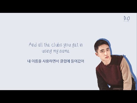 EXO D.O 디오 & CHANYEOL 찬열 - Love Yourself (Long Ver.) Color-Coded-Lyrics Eng l Han 가사 by xoxobuttons