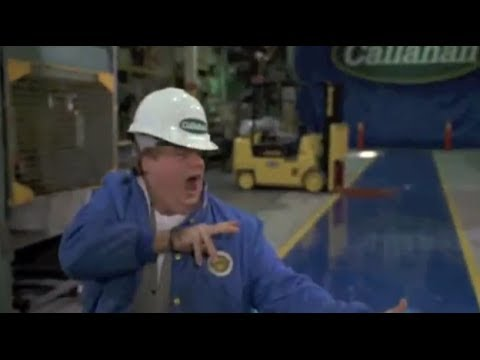 Tommy Boy (2/10) Best Movie Quote - Tommy Plays with Factory Machines (1995)