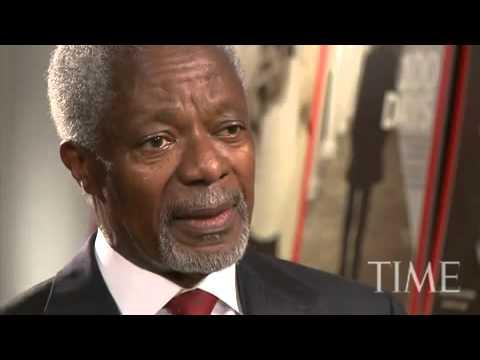 TIME Magazine Interviews  Kofi Annan tuvideo matiasmx com