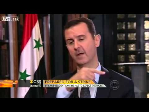 Syrian President CNN Interview