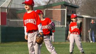 Gabe's First T-Ball Baseball Game! | Gabe and Garrett