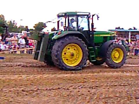 trecker treck sersheim 2008 john deere in aktion youtube. Black Bedroom Furniture Sets. Home Design Ideas