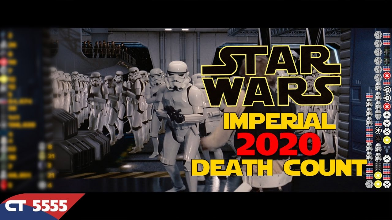 Star Wars Saga Imperial Death Count 2020
