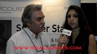 NAMM 2012: Speel iT Show talks with Dave Morrison of Isoacoustics.com