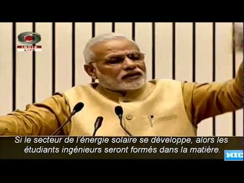 French Subtitles: Prime Minister's speech at the launch of 'Make in India' initiative