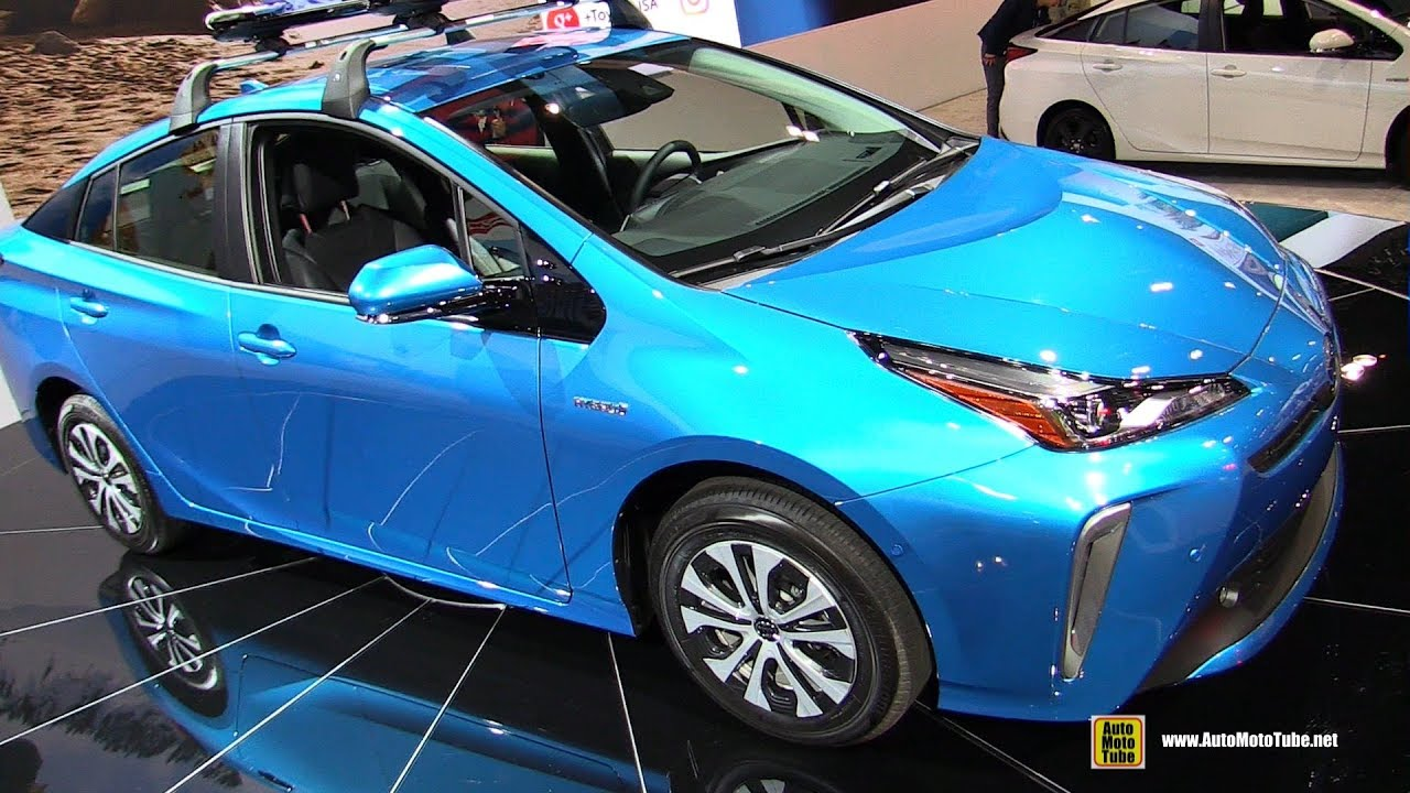 2019 Toyota Prius Awde Xle Exterior And Interior Walkaround Debut At 2018 La Auto Show