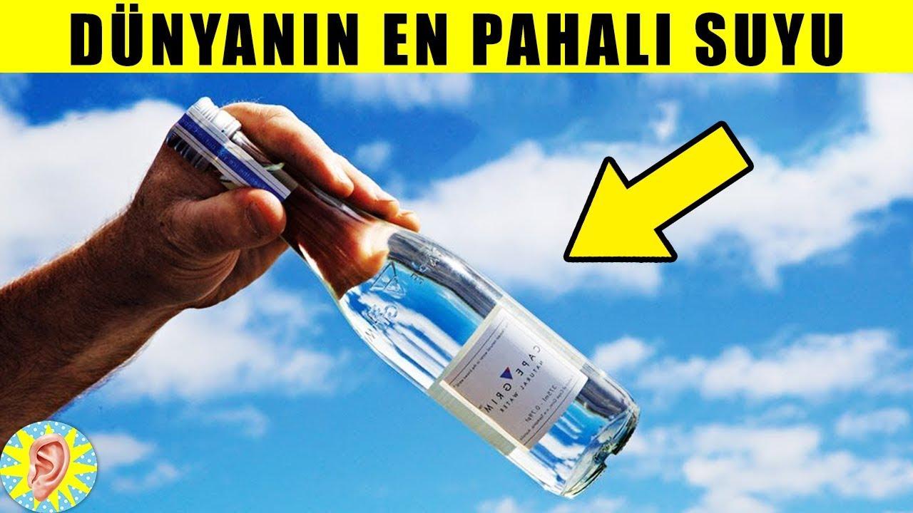 Dünyanın En Pahalı 7 İçme Suyu
