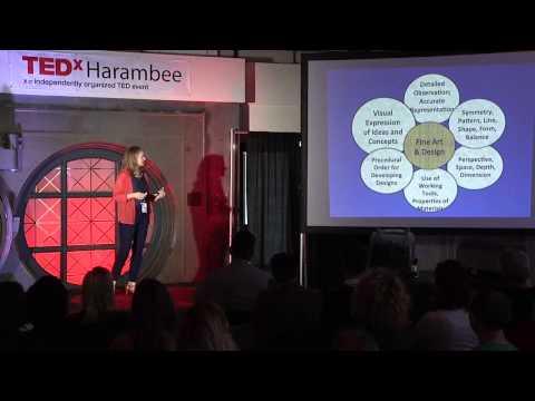 Technology, fine art & design in STEAM EDU: Sherri Dodd at TEDxHarambee