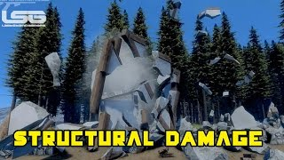 Medieval Engineers - Destruction, Structural Damage
