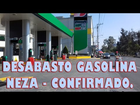 Desabasto de gasolina en Mexico - Ciudad Nezahualcoyotl