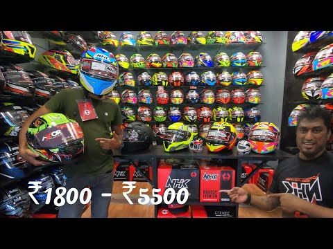 IMPORTED HELMETS UNDER ₹5500🔥| In COIMBATORE|Racing and touring helmets with lot of features👌|Ep01