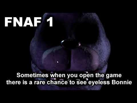 FNAF 1 2 3 4 5 6 All Easter Egg