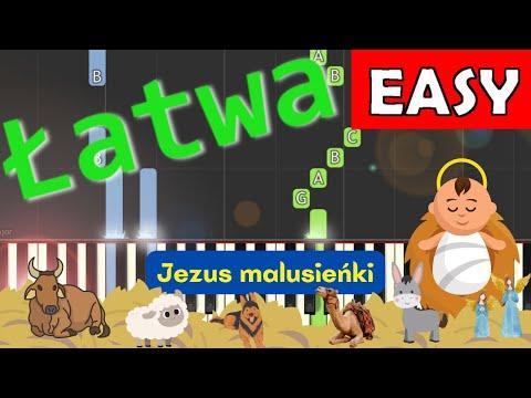 🎹 Jezus malusieńki - Piano Tutorial (łatwa wersja) 🎹