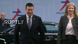 Live: 12th Asia–Europe Meeting Day 2: arrivals and roundtable