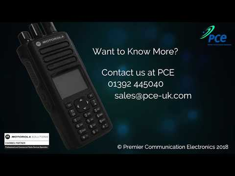 User Guide for Motorola Solutions DP4801E two-way radio