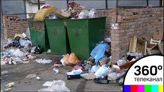 Воскресенск утопает в мусоре: местные дворники отказались выходить на работу